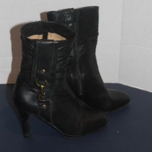 Coach Leather Boots Made in Italy Size 6